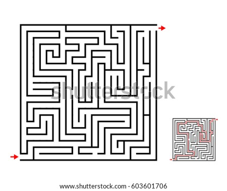 Diagram of a labyrinth residential electrical symbols maze labyrinth game vector design on stock vector 2018 603601706 rh shutterstock com large meditation labyrinth labyrinth maze ccuart Image collections