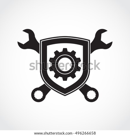 Mechanic logo stock images royalty free images vectors for Mechanic shirts with logo