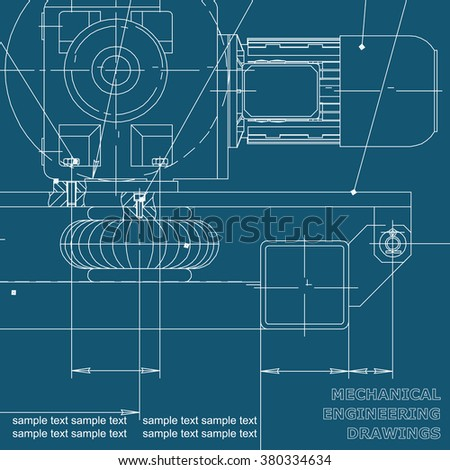 Vector christmas icon new year illustration vectores en stock mechanical engineering drawings on a blue background blueprints vector cover background for malvernweather Image collections