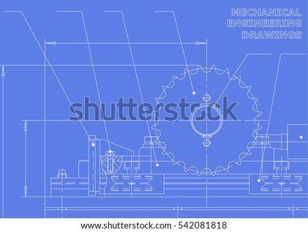 Blueprint ufo technical document drawing alien stock vector mechanical engineering drawings vector drawing malvernweather Choice Image