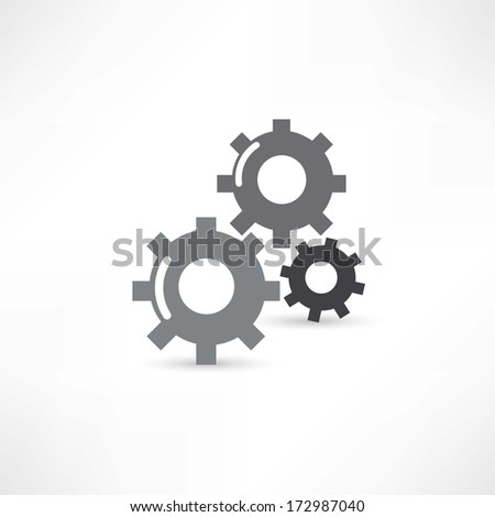 mechanical icon - stock vector