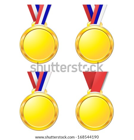 medal - stock vector