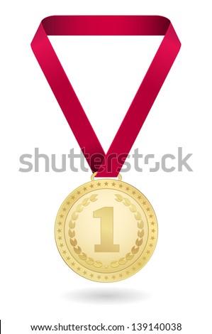 medal design - stock vector