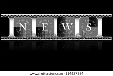 Media. Electronic news, vector - stock vector