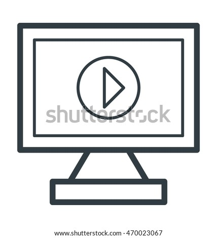 Media Player Vector Icon