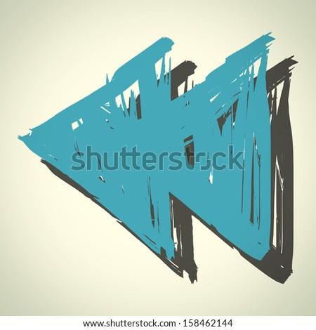 Media symbol : vector sketchbook - stock vector