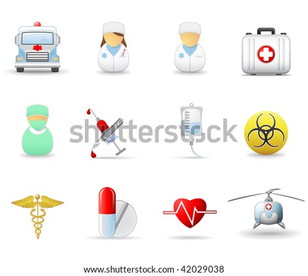 Medical and health-care icons