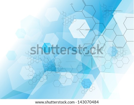 Medical background Vector - stock vector