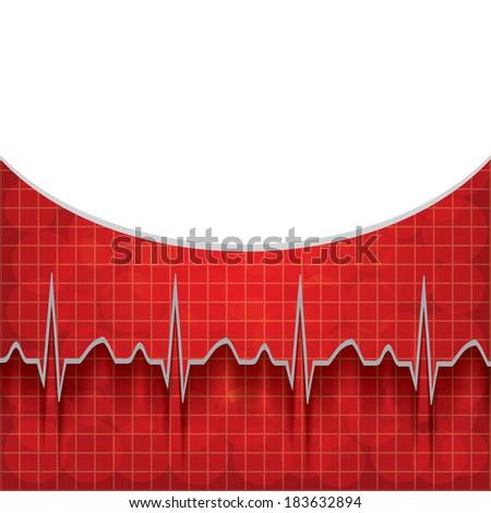 Medical background .vector - stock vector