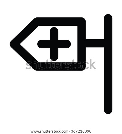 Medical Board Bold Line Vector Icon