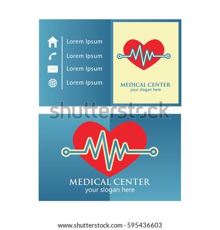 Medical business card design stock photo photo vector medical business card design stopboris Images