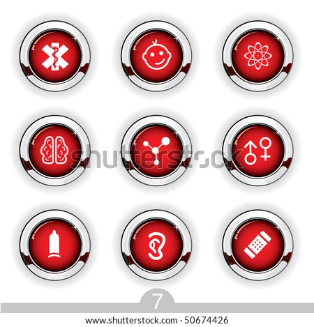 Medical button series 7