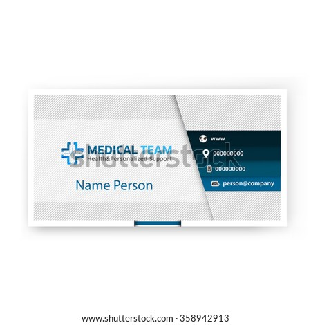 Medical card corporate identity