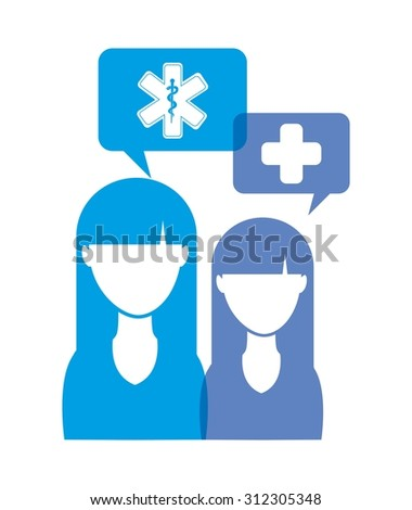 medical concept design, vector illustration eps10 graphic  - stock vector