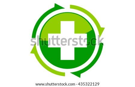 Medical Health Solutions Center Stock Vector 435322129 Shutterstock