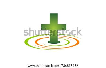 Medical Health Solutions Center Stock Vector 736818439 Shutterstock