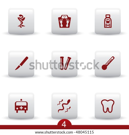 Medical icon series 4 - stock vector
