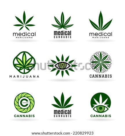 Medical Marijuana Cannabis 2 Stock Vector Royalty Free 220829923