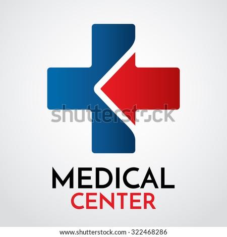 Medical Pharmacy Logo Design Template Vector Stock Vector 322468286 ...