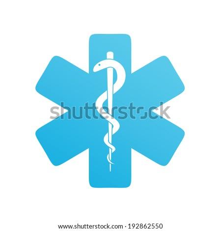 Medical Snake Blue