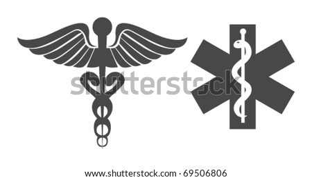 Medical symbols - stock vector