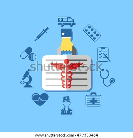 medicine box vector illustration
