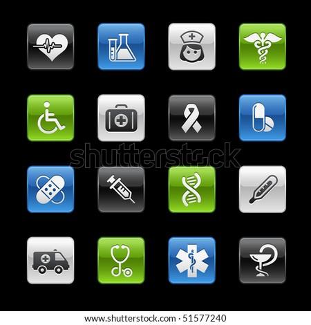 Medicine & Health Care // Gelbox Series - stock vector