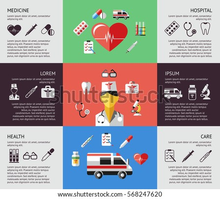 Medical Infographic Vector Design Template Can Stock Vector ...