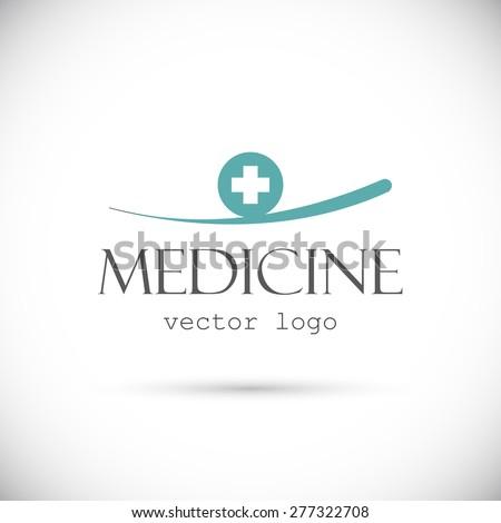 Medicine vector logo - stock vector
