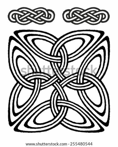 medieval celtic viking symbol - stock vector