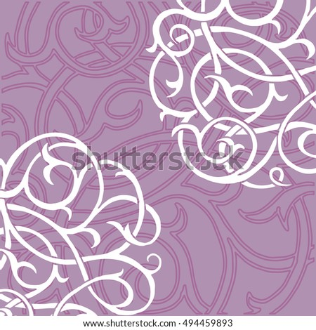 Medieval invitation floral corners cards invitation stock vector medieval invitation floral corners for cards and invitation template frame design for card stopboris Choice Image