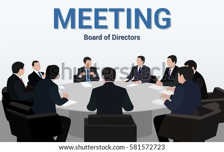 Perfect Meeting The Board Of Directors Negotiation