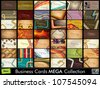 Mega collection of 42 abstract professional and designer business cards or visiting cards on different topic, arrange in horizontal. EPS 10. - stock