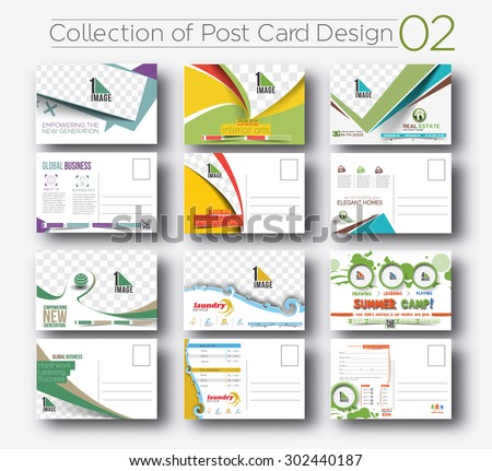 post card advertising