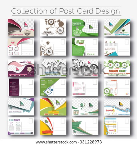 Postcard Design Stock Images, Royalty-Free Images & Vectors ...
