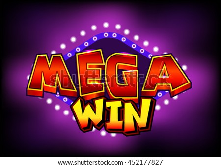 Mega Win Slots Shiny Achievement Text