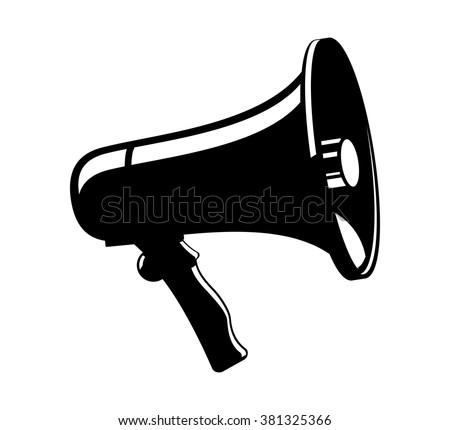 megaphone vector icon stock photo photo vector illustration rh shutterstock com megaphone vectoriel megaphone vector icon