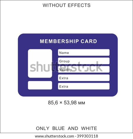 Membership Card Stock Images, Royalty-Free Images & Vectors
