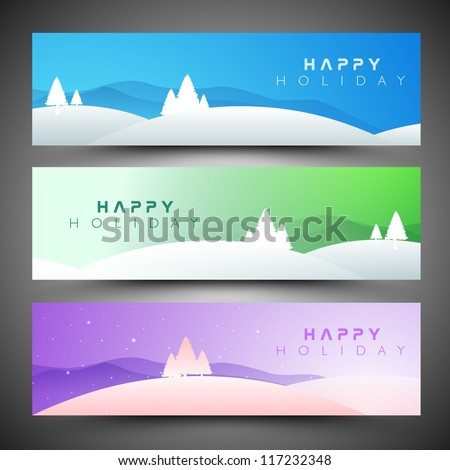 MeMerry Christmas website header and banner with beautiful snowflake design. EPS 10. - stock vector