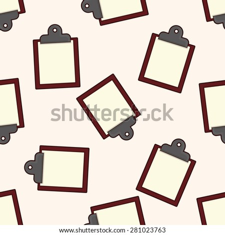 Memo , cartoon seamless pattern background