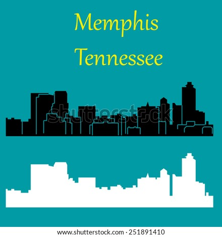 Memphis, Tennessee - stock vector
