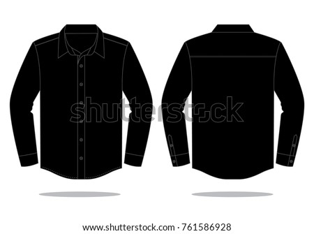 Sleeve stock images royalty free images vectors for 3 4 sleeve shirt template