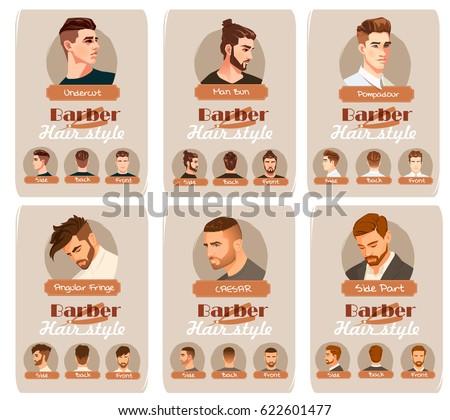 Undercut Stock Images RoyaltyFree Images Vectors Shutterstock - Undercut hairstyle front view