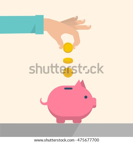 Repay stock images royalty free images vectors for How to make a piggy bank you can t open