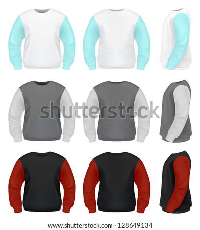 Men's Sweater - stock vector