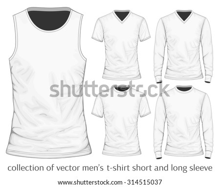 Men's t-shirt. Vector illustration.
