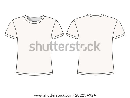 mens white short sleeve t shirt design templates
