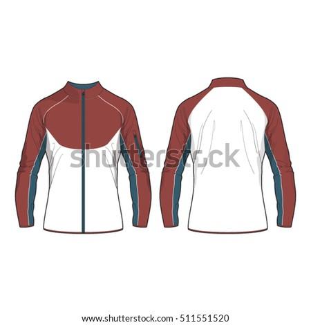 Sport jacket vector free