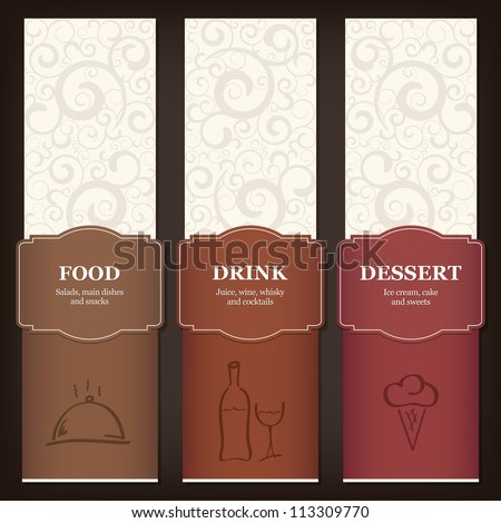 Menu Template Stock Images RoyaltyFree Images  Vectors