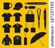 Merchandise - stock vector